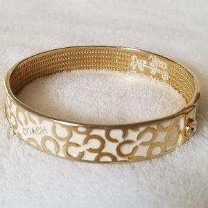 COACH Enamel Bangle Bracelet